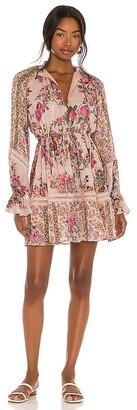 HEMANT AND NANDITA Kilim Mini Dress