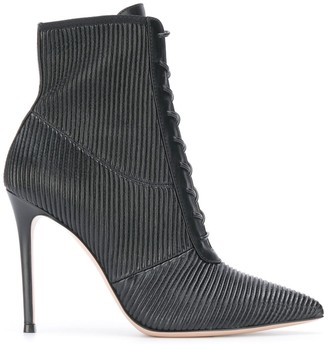 Gianvito Rossi ankle lace-up boots