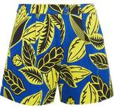 Moschino Printed Cotton-Blend Shorts