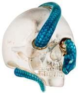 Theo Fennell Snake & Skull Ring