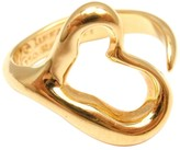 Tiffany & Co. 18K Yellow Gold Peretti Open Heart Ring