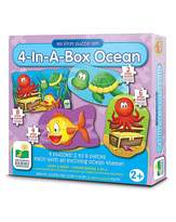 Fashion World My First Puzzle 4 In-A-Box Puzzles Ocean