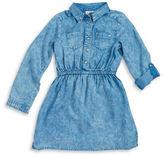 Design History Girls 7-16 Chambray Shirtdress