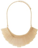 Forever 21 Matchstick Fan Statement Necklace