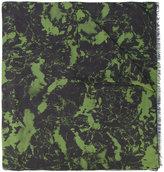 Balmain frayed scarf - men - Modal/Cashmere - One Size