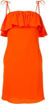 Sonia By Sonia Rykiel ruffled fitted dress