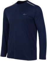 Greg Norman for Tasso Elba Men's Big & Tall Long-Sleeve Mesh-Inset T-Shirt, Only at Macy's