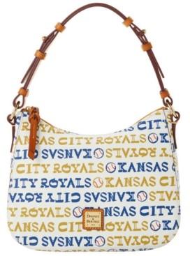 Dooney & Bourke Kansas City Royals Small Kiley Hobo Bag