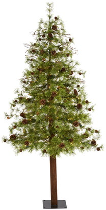 Nearly Natural 6ft. Wyoming Alpine Artificial Christmas Tree