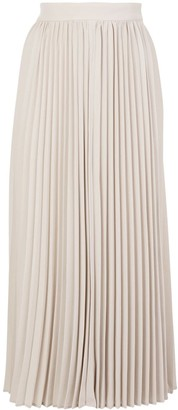 Co High Waist Pleated Skirt