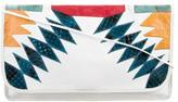 Carlos Falchi Python & Leather Shoulder Bag