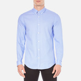 BOSS GREEN Men's CBaldasar Long Sleeve Shirt - Blue