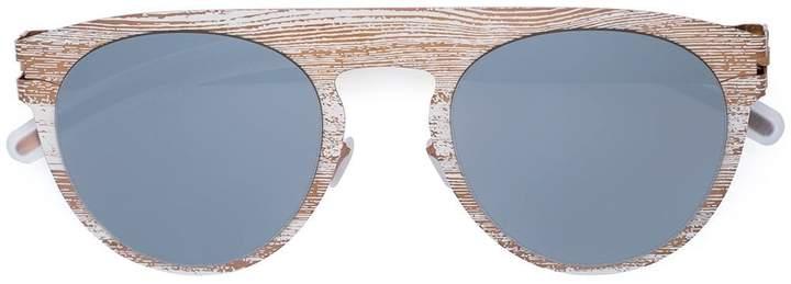 Mykita patterned cat eye sunglasses