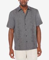 Cubavera Men's Embroidered Chambray Shirt