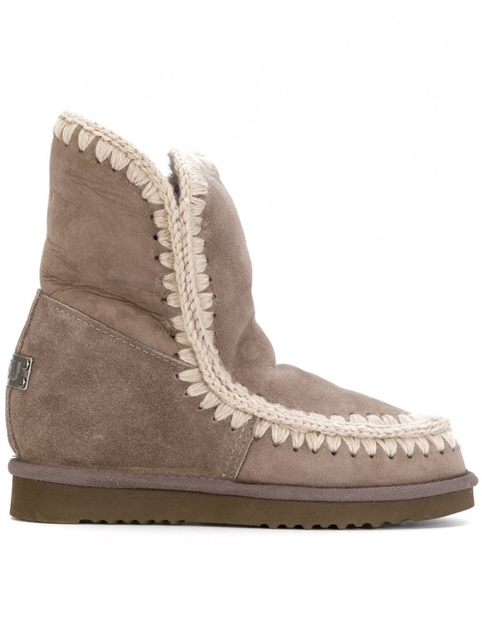 Mou Inner Wedge Short Boots