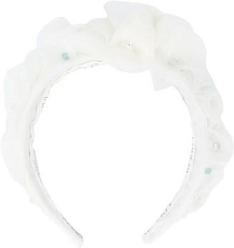 Loulou Embellished Tulle Bridal Headband