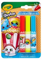 Crayola ; Shopkins PipSqueaks Markers 3ct - Poppy Corn