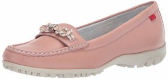 Marc Joseph New York Women's Golf Leather Made in Brazil Orchard Street Performance Loafer Moccasin