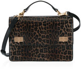 Henri Bendel West 57th Leopard Schoolbag