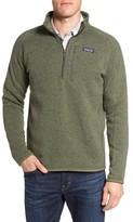 Patagonia Men's 'Better Sweater' Quarter Zip Pullover