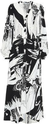 Loewe Salome printed shirt dress