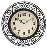 Westclox Filigree Clock