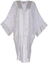 Lille Silk & Lace Kimono In White