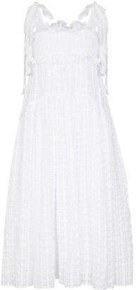 Cecilie Bahnsen Mika flared midi dress