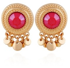 Nanette Lepore Button Charm Earring