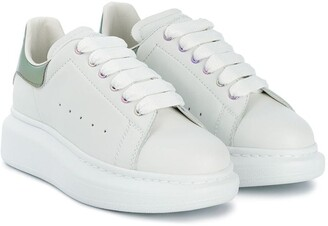 ALEXANDER MCQUEEN KIDS Oversized low-top sneakers