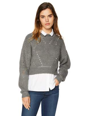 ASTR the Label Women's Carly Chunky Knit Sweater