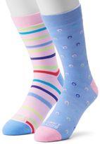 Men's Funky Socks 2-pack Lucky Dots Derby Socks