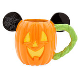 Disney Mickey Mouse Pumpkin Halloween Mug