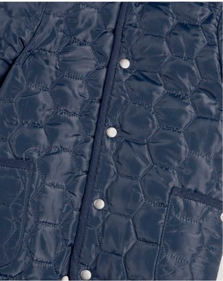 Mamas and Papas Baby Boys Quilted Pramsuit - Blue