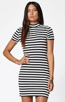 Vans Abbot Stripe Short Sleeve Bodycon Dress