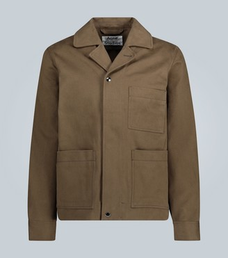 Acne Studios Omar boxy workwear-inspired jacket