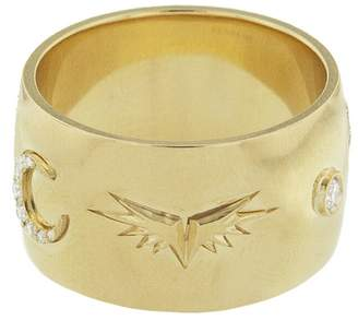 Foundrae Knuckle Duster Ring - Yellow Gold