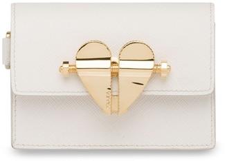 Prada Heart Clasp Mini Bag