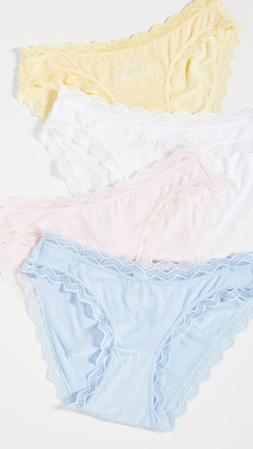 Stripe & Stare Wedding Knickers