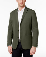 INC International Concepts Men's Faux-Leather Trimmed Blazer, Created for Macy's