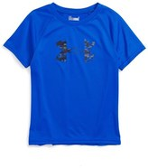 Under Armour Toddler Boy's Digiblur Logo Graphic Heatgear T-Shirt
