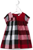 Burberry gathered front check dress - kids - Cotton - 36 mth