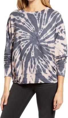 Treasure & Bond Tie Dye Crewneck Sweatshirt
