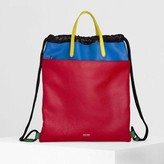 Jeff Wan Grand Baie Gym Bag in Colorblock in Flag Leather