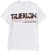 True Religion Retro Logo Short-Sleeve Graphic Tee