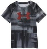 Under Armour Logo HeatGear ® T-Shirt (Toddler Boys & Little Boys)