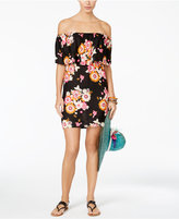 Raviya Floral-Print Off-The-Shoulder Cover-Up