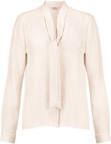 Vilshenko Silk-jacquard blouse