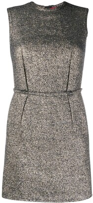 Lanvin Pre Owned 2011 glittery mini dress