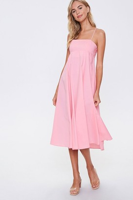 Forever 21 Strappy-Back Cami Dress